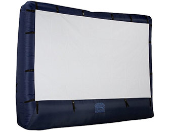 "$43 off Gemma Airblown Inflatable Outdoor 150"" Movie Screen"