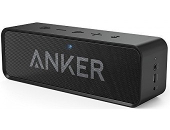 66% off Anker SoundCore Bluetooth Speaker with Built-in Mic
