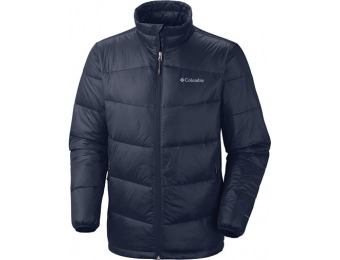 88% off Columbia Men's Gold 650 TurboDown Down Jacket Navy