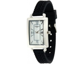 55% off Liz Claiborne New York Cable Knit Texture Silicone Watch