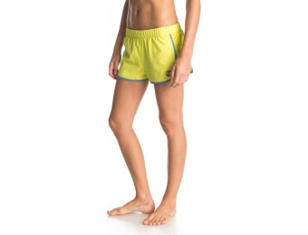 75% off Roxy Women's Line Up Shorts, Green