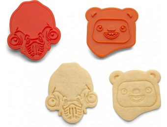 70% off Star Wars Rebel Friends Endor Cookie Cutters - 2 pack