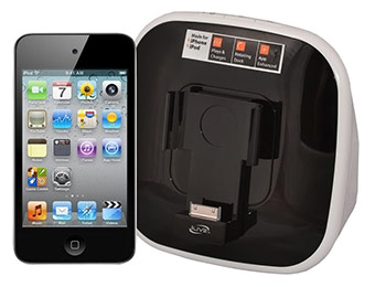 $70 off Apple iPod touch 8GB 4th Gen + iLive Speaker Rotating Dock