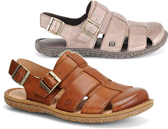 50% off Born Resnor Men's Sandals (tan or taupe)