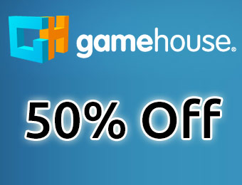 50% off all games with Gamehouse coupon code: SALE13