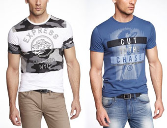 40% off All Men's Graphic Tees