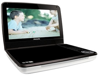 "$71 off Philips 9"" Portable DVD Player"