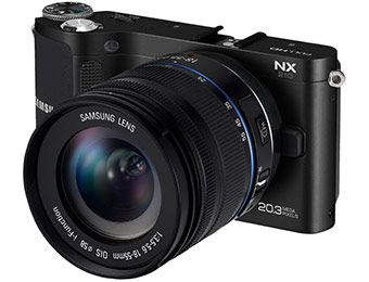 $501 off Samsung NX210 20.3MP WiFi Digital Camera