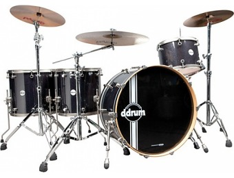 61% off Ddrum Reflex Bombardier 5-Piece Shell Pack, Galaxy Sparkle