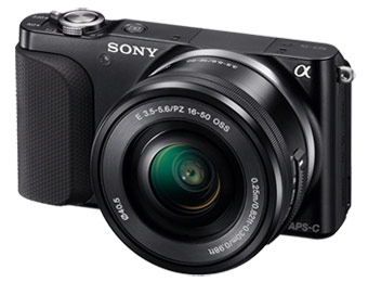 $125 off Sony NEX-3NL 16.1MP Camera with 16-50mm Lens