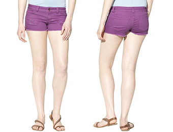 40% off Mossimo Destructed Denim Shorts (Juniors, 4 Colors)