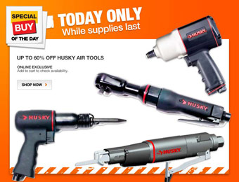 Up to 60% off Husky Air Tools