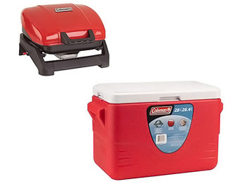 $62 off Coleman Table Top Grill and Cooler Value Bundle