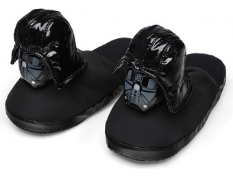 80% off Star Wars Darth Vader Slippers