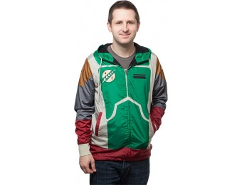 80% off Star Wars Boba Fett Windbreaker Jacket