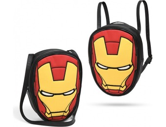 80% off Marvel Iron Man Convertible Backpack