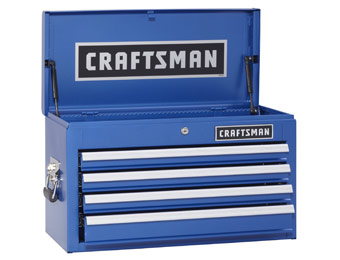 $135 off Craftsman 4-Drawer Ball-Bearing Top Tool Chest