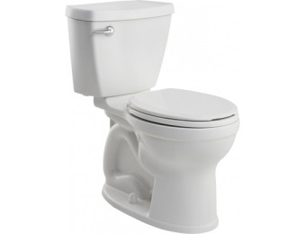 46% off American Standard White 1.6-GPF Comfort Height Toilet