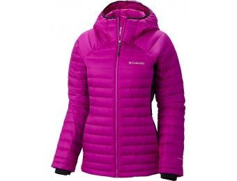 50% off Columbia Women's Gold 750 TurboDown Hooded Jacket