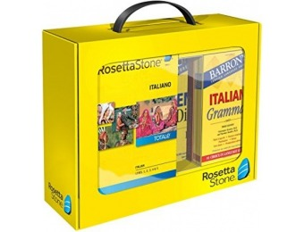 65% off Learn Italian: Rosetta Stone Italian - Power Pack