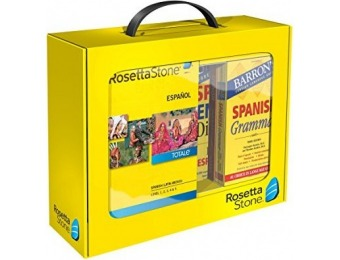 65% off Learn Spanish (Latin America): Rosetta Stone Power Pack