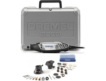 66% off Dremel 3000 2 Attachments / 28 Accessories Rotary Tool Set