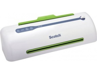 "65% off Scotch PRO Thermal Laminator, 9"" Anti-Jam (TL906)"