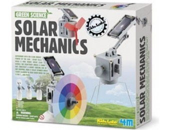 84% off 4M Solar Mechanics Alternative Energy Science Kit
