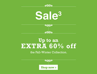 Up to an Extra 60% off Fall-Winter Collections
