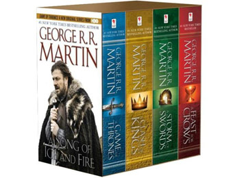 62% off Song of Ice and Fire 4-Volume Paperback Boxed Set