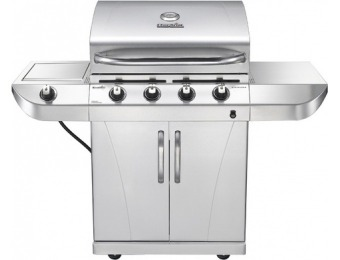 $140 off Char-Broil Stainless 4-Burner 34,000-BTU Propane Grill