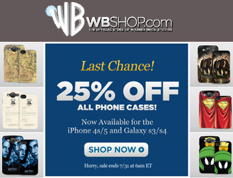 25% off All Phone Cases including iPhone 4S/5 & S3/S4 Cases