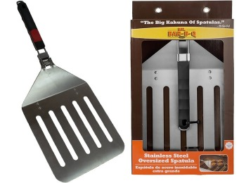 48% off Mr. Bar-B-Q Stainless Steel Oversized Spatula w/ Folding Handle