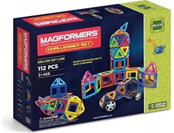47% off Magformers Challenger Set (112-pieces)