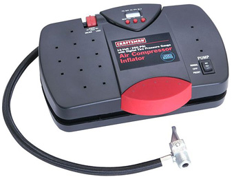 43% off Craftsman 12V Portable Inflator w/Digital Pressure Gauge
