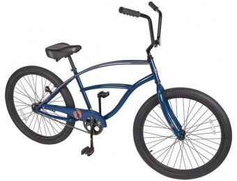 "$157 off Hang Ten Mens 26"" Single-Speed Cruiser Bike"