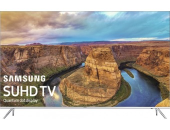 "$2,300 off Samsung 65"" LED 2160p Smart 4K Ultra HDTV UN65KS8000"