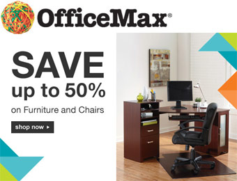 Up to 50% off Furniture & Chairs at Office Max