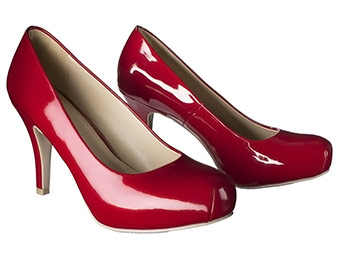 53% off Mossimo Veruca Snub Toe Red Pumps