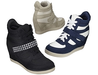 $10 off Xhilaration Shayenne High Top Wedges (5 colors)