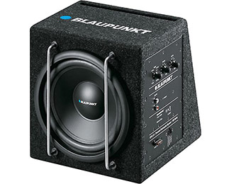 "Extra $45 off Blaupunkt GTb 8A 8"" 75-watt powered subwoofer"