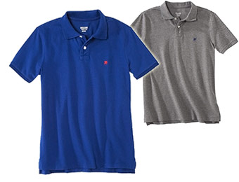 33% off Mossimo Men's Short Sleeve Polo Shirts (7 colors)