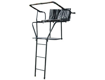 $184 off Buffalo Outdoor 16 Foot Deluxe 2-Person Tree Stand