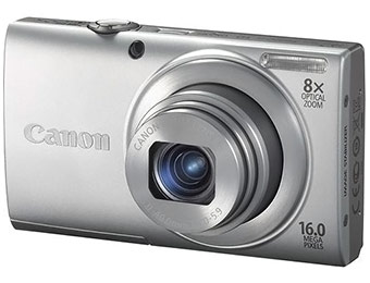 Extra $95 off Canon PowerShot A4000 IS 16.0-MP Digital Camera