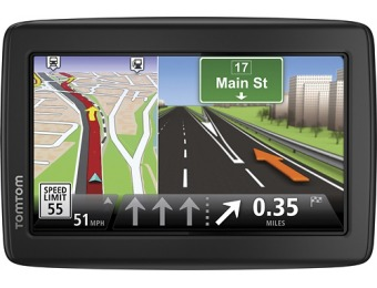 "$20 off Tomtom Via 1515m 5"" GPS With Lifetime Maps"