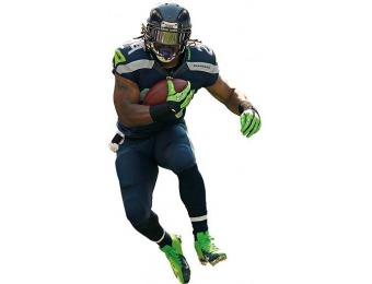55% off Marshawn Lynch Teammate Fathead