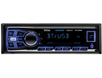 66% off BOSS AUDIO Single-DIN MECH-LESS Receiver, Bluetooth