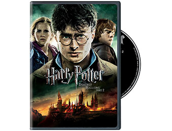 75% off Harry Potter and the Deathly Hallows, Part 2 on DVD