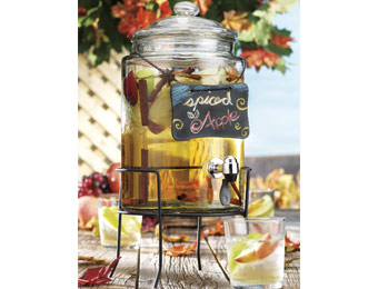60% off Home Essentials Beverage Dispenser w/ Chalkboard & Stand