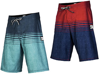 50% off DC Banyan Men's Board Shorts (spruce, red, or black)